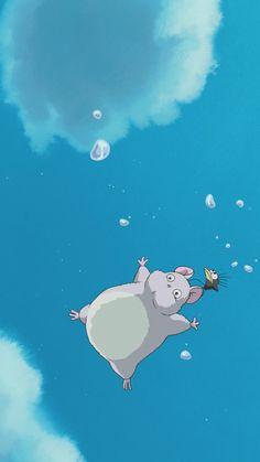 Wallpaper Iphone Anime Studio Ghibli Spirited Away 51 Ideas . - Wallpaper Iphone Anime Studio Ghibli Spirited Away 51 Ideas For 2019 Studio Ghibli Films, Art Studio Ghibli, Totoro, Art Anime, Anime Kunst, Kawaii Wallpaper, Iphone Wallpaper, Anime Wallpapers Iphone, Apple Wallpaper