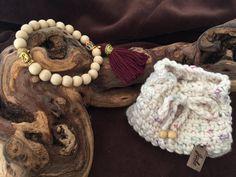 Bronze Buddha Mala Yoga Bracelet Amulets by BeautifulShades