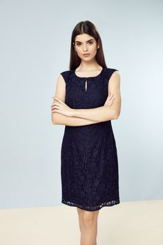 989f87e71f Petite Navy Lace Shift Dress. Wallis PetitePetite DressesDresses ...