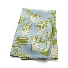 Herb Garden Dishtowel in Kitchen Linens | Crate and Barrel