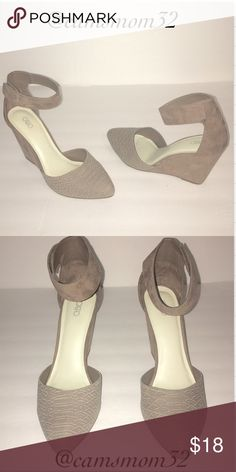 New Cato wedge heels NWOT! Great condition, size 10 heel is 4 inches. Bundle more items and save😉 Cato Shoes Heels