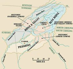 Cherokee Territory Before Removal