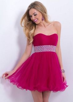 Fandango Strapless Beaded Waist Short Homecoming Dress [Homecoming 130] - $179.00 : Prom Gown Trade,Cheap Prom Dresses 2015 At promgowntrade.com!