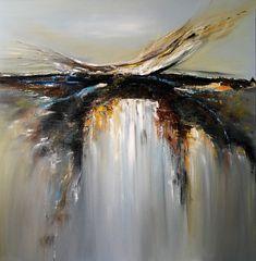 Amazing oil painting 36x36' artist Miroslava Lipovec Friedman