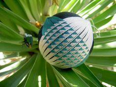 Beetle Ball temari, by Becky