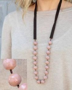 Love this beautiful necklace from Trades of Hope.