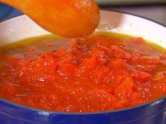 Basic Tomato (Pomodoro) Sauce recipe from Dave Lieberman via Food Network