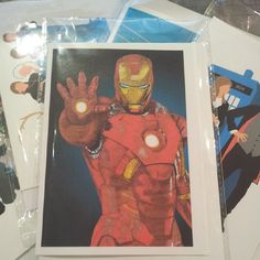 Last but not least, a fab looking Iron Man (at Crafty Praxis)
