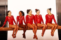 Fierce Five <3 Kyla Ross, Gabby Douglas, Jordyn Wieber, McKayla Maroney, Aly Raisman