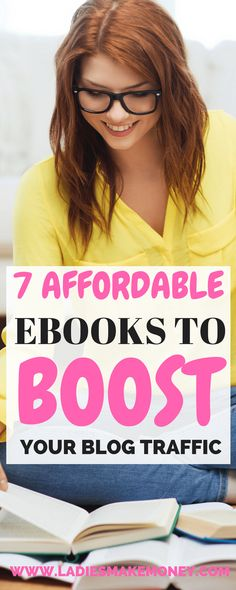 7 Totally affordable eBooks guaranteed to boost your blog traffic .blog traffic tips, How do I get more readers for my blog? #PINTERESTTRAFFIC How to increase blog traffic fast. Increase your blog traffic with our strategies. Pinterest Marketing. Grow your blog with Pinterest. How to use Pinterest for blogging. Learn how to grow your blog traffic with our tips. Increase your website traffic, how to get more blog traffic, ways to get blog traffic. Use Pinterest to increase your blog traffic.