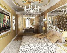 hollywood glam interior decor - Google Search