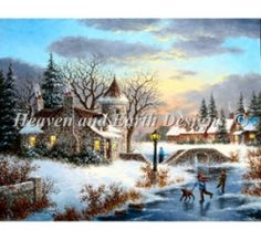 Heaven And Earth Designs - Winter at Stonebridge Manor