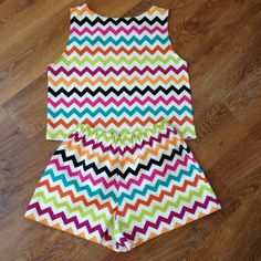 Zigzag Co ord two piece