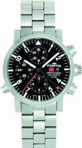 Fortis Men's 627.22.11 M Spacematic Automatic Chronograph Alarm Watch: Watches: $ 9, 525.00