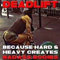 Deadlift...