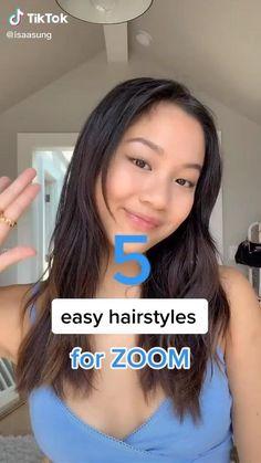 Hair Up Styles, Medium Hair Styles, Natural Hair Styles, Style Hair, Hair Streaks, Hair Highlights, Aesthetic Hair, Grunge Hair, Cute Hairstyles