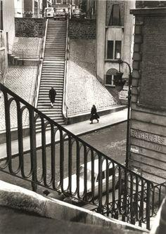 Alfred Eisenstaedt - Left Bank, Paris, 1964