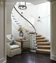 Winding stairs - this is beautiful.