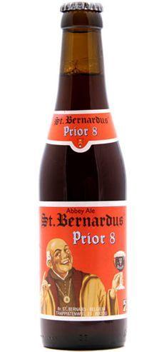 St. Bernardus Prior 8: Excellent Dubbel from Belgium - http://www.beerz.co.nz/beers-in-new-zealand/st-bernardus-prior-8-excellent-dubbel-from-belgium/ #beer #nzbeer #beernz #NewZealand