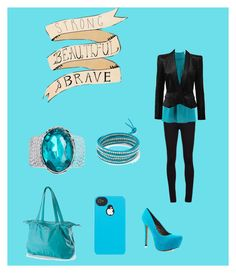 the blue by tayler-sheppherd on Polyvore featuring polyvore fashion style Michael Kors Balmain Vince Jessica Simpson Mia Tui ASOS Chan Luu Boostcase clothing