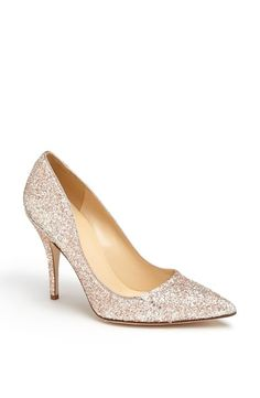 glitter kate spade new york pump!