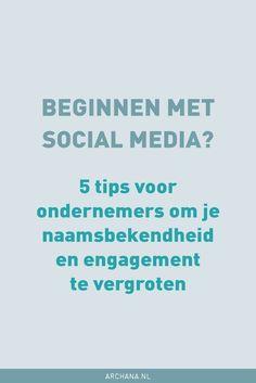 Beginnen met social