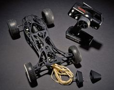 3ders.org - Pasadena students 3D print a rubber band-powered Cirin RC car with a top speed of 30 mph | 3D Printer News & 3D Printing News