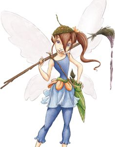 Drawings of Fairies and Pixies   Bess   Fairies Friends   Disney