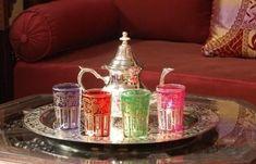 Love these Moroccan tea glasses