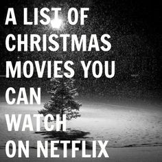 A Little Too Jolley: Christmas Movies You Can Watch on Netflix - Fun List - Just in case :) November 2014 Christmas Time Is Here, Noel Christmas, Merry Little Christmas, Winter Christmas, All Things Christmas, Christmas Crafts, Christmas Decorations, Christmas Ideas, Christmas Budget