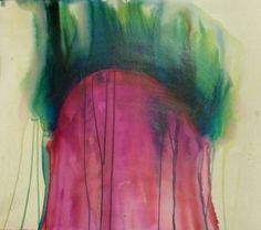 ''Burning up emotions'' Inks, 75*60 cm by Eva Merendes