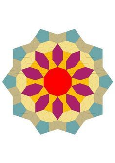 GIRIH TILES english paper piecing (EPP)