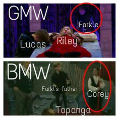Does that mean ,GASP!Riley and farkle???? No no it's can't be rucas 4 ever!!!!