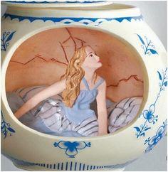 2010 Disney Alice in Wonderland, Hallmark Keepsake Ornament at Hooked on Hallmark Ornaments