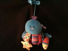 Bright Starts Kids II Clip On Friends Octopus