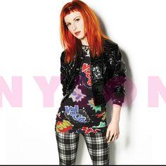 Hayley Williams in Nylon Magazine