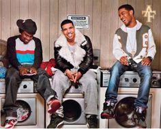 Wale, Drake, Kid Cudi. Love them all!