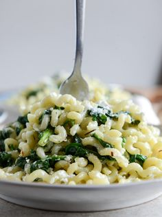Caramelized Shallot, Spinach and Goat Cheese Garlic Butter Pasta