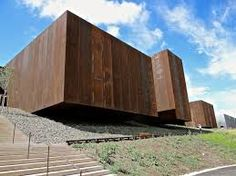 escalier extérieur acier corten - Recherche Google   architecture ...