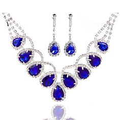 Ladies'/Women's Alloy Wedding/Party Jewelry Set With Pearl/Rhinestone – USD $ 11.99