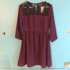 "NWT FOREVER 21 DRESS Brand new with tag. ""Fit and flare"" style with gorgeous detailing!! Forever 21 Dresses"