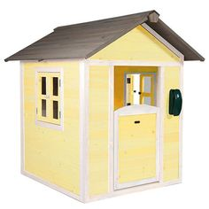 With its stylish and natural design constructed from robust cedar, this Playhouse features plenty of space inside for your children to role play any homely situation they can think of, giving them many hours of fun and excitement.