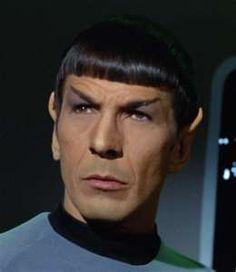 Spock: live long and prosper. (yes i've seen all the old star treks)