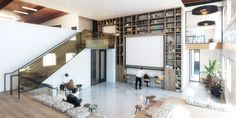 creative office shared space @kevintsaiarchitecture