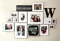 Picture arrangement idea