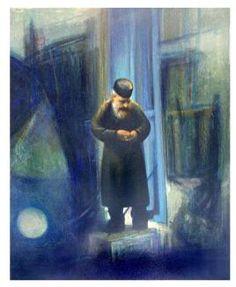 Blå munk Rudolf Steiner, Artist, Blue, Painting, Artists, Painting Art, Paintings, Painted Canvas, Drawings