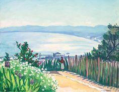 Albert Marquet 1875 - 1947 Baie D'alger Vue D'el-Biar