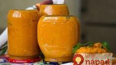 Na topinky, pod mäso, do omáčok: Vynikajúca cuketová zmes na celý rok! Slovak Recipes, Pumpkin Squash, Home Canning, Canning Recipes, Clean Recipes, Hot Sauce Bottles, Brunch, Food And Drink, Healthy Eating