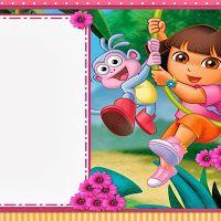 Dora The Explorer Free Printable Kit Free Kits Pinterest