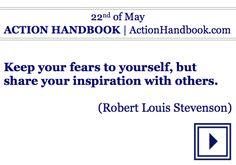 Is this Sunday your day to take action in your own life?  #dailyquote #quoteoftheday #book #ebook #ActionHandbook